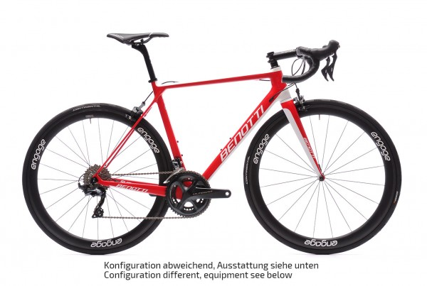 FUOCO TEAM Carbon, Shimano Ultegra R8000, engage 45C