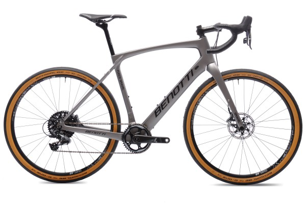FUOCO GRAVEL Plus 27.5 Carbon, Silver ED Force One