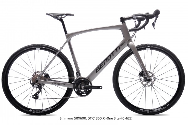 FUOCO GRAVEL Carbon, Silver ED Force One