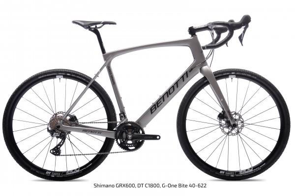 FUOCO GRAVEL Carbon, Silver ED GRX RX810 2x11
