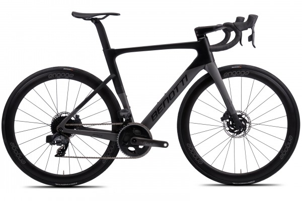 FUOCO AERO Disc, SRAM Force AXS - Grey Edition