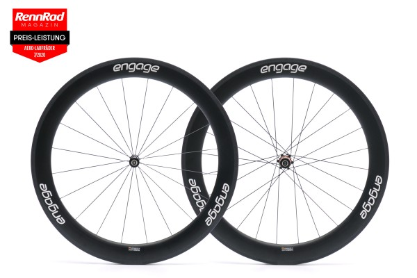 engage 62C carbon wheelset
