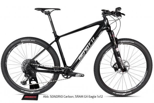 SONDRIO Carbon 27.5, Shimano XT 2x11