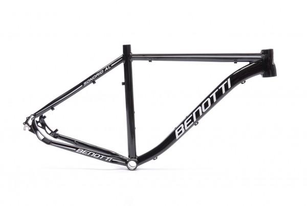 """Mountainbike Rahmen Sondrio AL schwarz-weiß-glanz 29"""""""