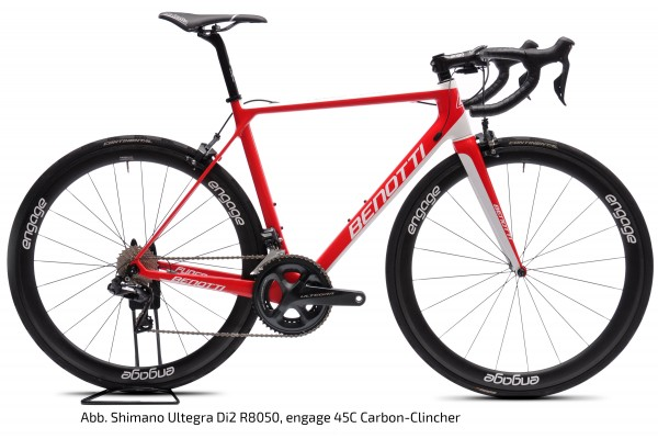 FUOCO TEAM Carbon, SRAM Red eTAP AXS, engage 45C