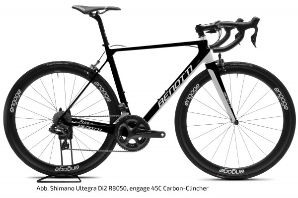 FUOCO TEAM Carbon, SRAM Force eTAP AXS, engage 45C