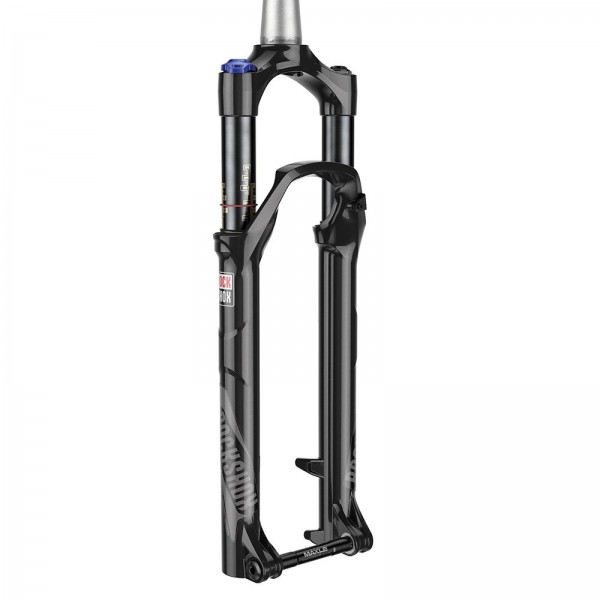 RockShox Federgabel Reba RL Solo Air, 27,5 Zoll, 120 mm, Tapered, schwarz mit One-Loc-Remote