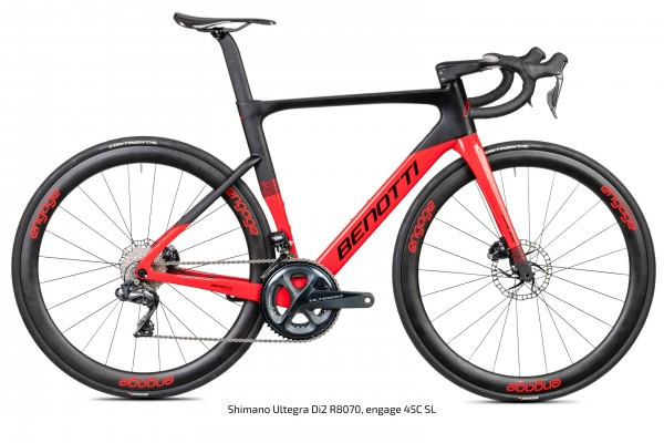 FUOCO AERO Disc, Shimano Ultegra Di2 - Red Edition
