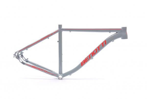 "Mountainbike Rahmen Sondrio AL grau-fluored-glanz 29"""