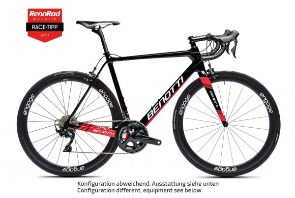 FUOCO Carbon, SRAM RED eTAP AXS, engage 45C